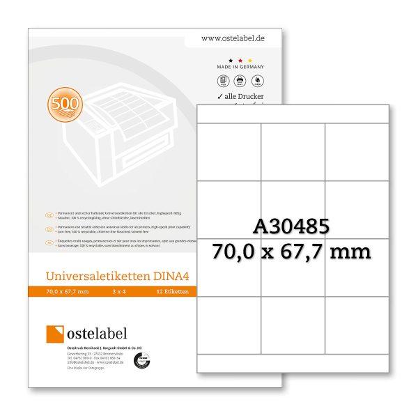 Etikett A30485