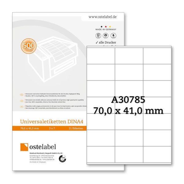 Etikett A30785