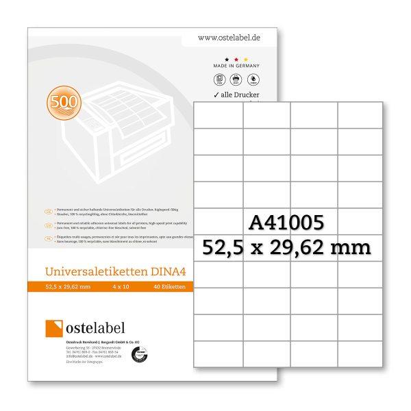 Etikett A41005