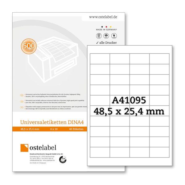 Etikett A41095
