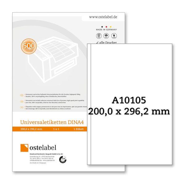 Etikett A10105