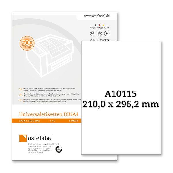 Etikett A10115