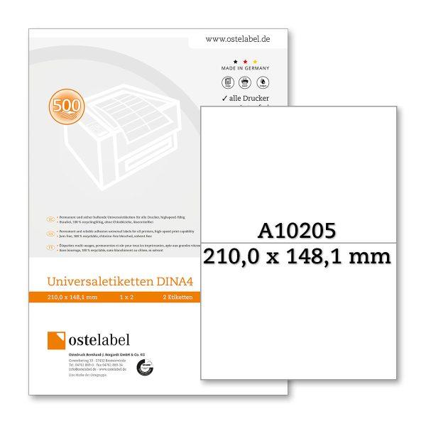 Etikett A10205