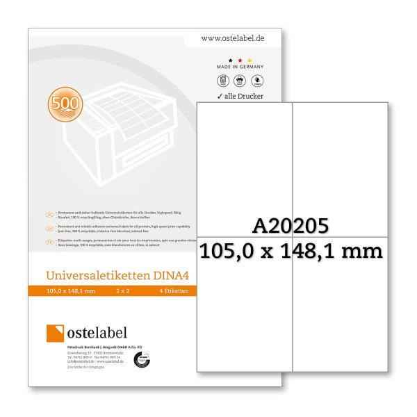 Etikett A20205